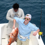 Nice red snapper.